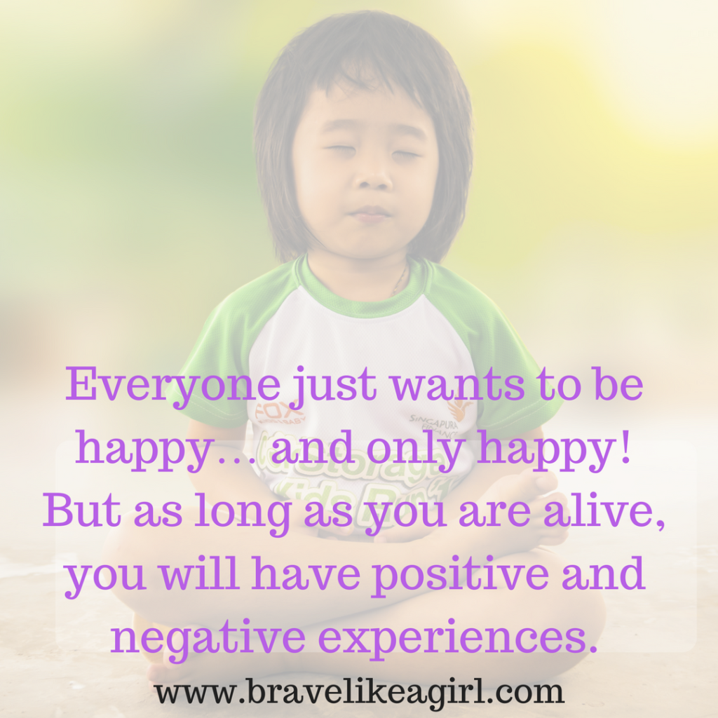 Every one wants to be happy