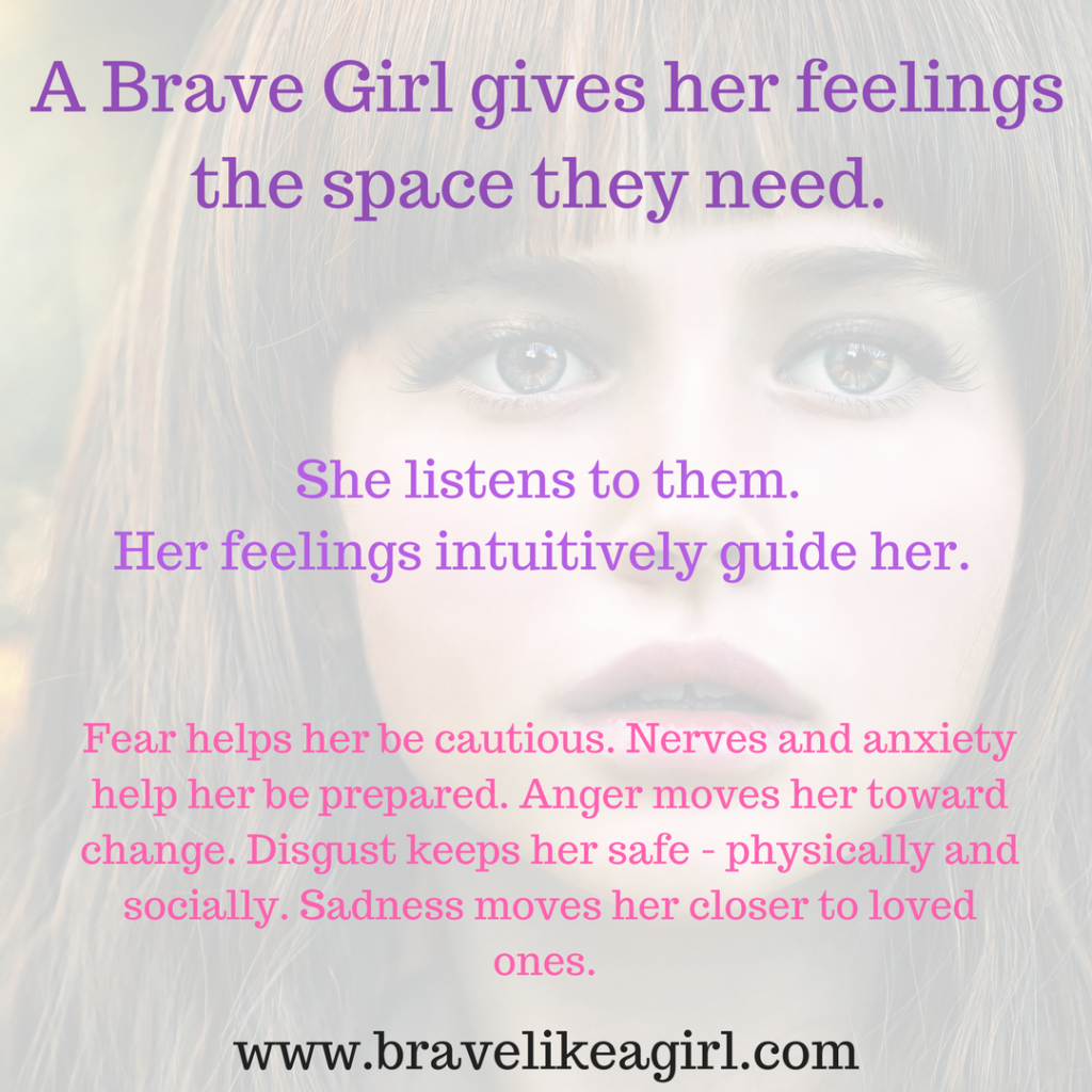 Brave Girl gives her feelings Space